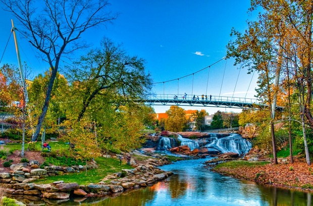 Greenville – Ideal place for your vacation in the US