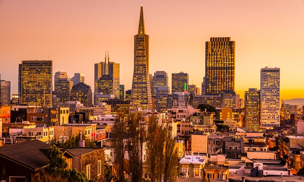 San Francisco in autumn